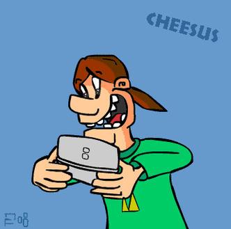 Cheesus by VIC-DA-BAD-FISH