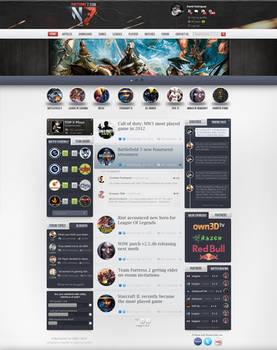 Gaming Nocturne7 webdesign