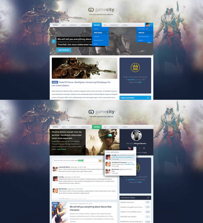 Gamecity ONLINE (PSD)