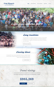 Sample Camp page