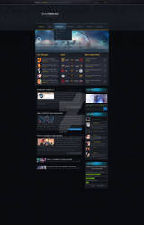 Spacebound Webdesign (League Of Legends) WIP!