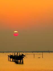 venetian sunset by rodrigopivoto