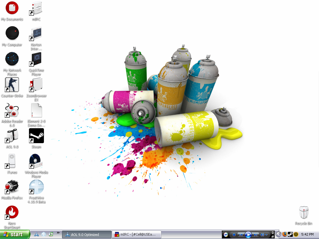 New Paint Desktop by Kamakacci