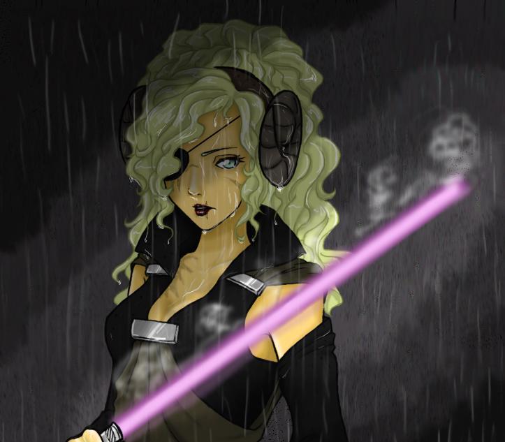 Star Wars OC Isolde by PsychoMariku