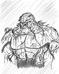Swamp Thing by revility