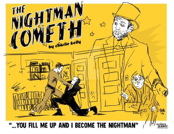Nightman Cometh by zane-degaine