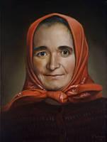 Portrait Mrs. M., by pwerner4155