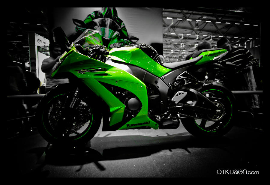 Kawasaki ZX10R 2011 B By OTK Dsigns