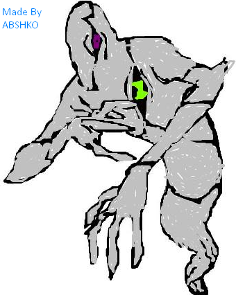 ghostfreak ben 10 computer drawing by abshko