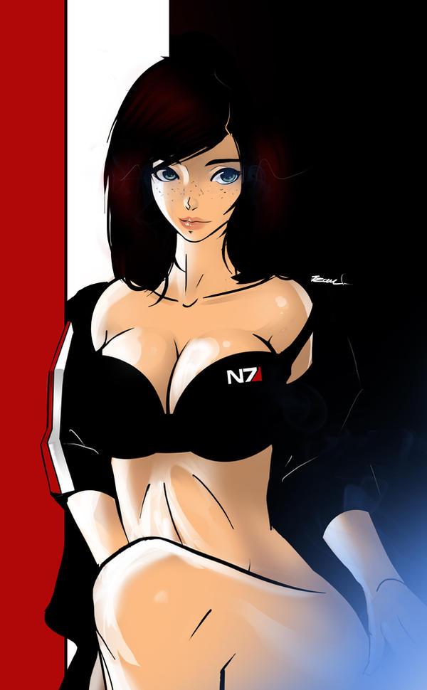 Mass Effect - N7 Shepard by 7Zaki