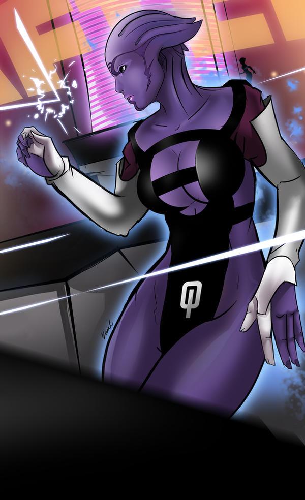 Mass Effect - Aria by 7Zaki