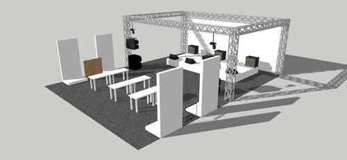 Booth design by rolandD2nd