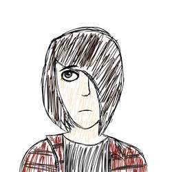 Self Portrait by ForestBugDA