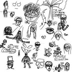 Random Art Dump by ForestBugDA