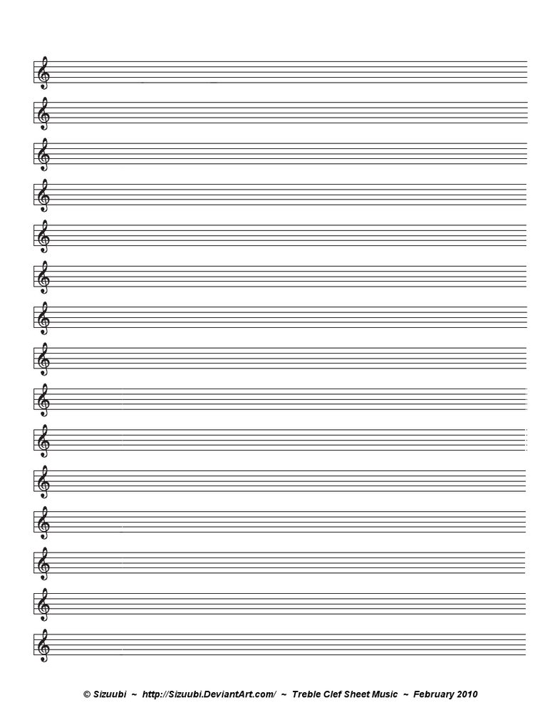 plain music sheets