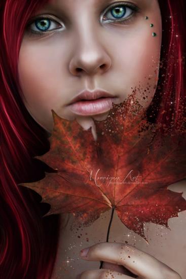 Autumn's Woe by MorriganArt
