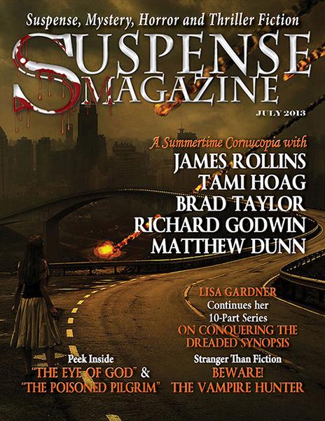 Suspense Magazine - July 2013 by MorriganArt