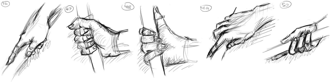 Hands (46-50)!!! by muslacrima