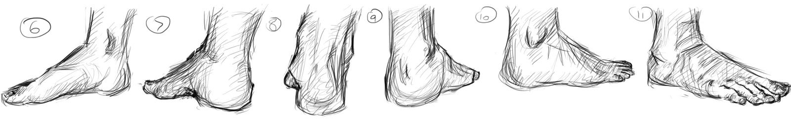 Feet (6-11) by muslacrima