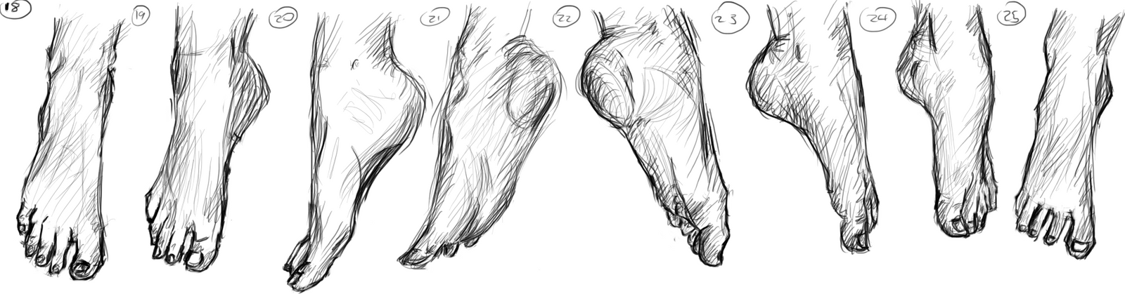 Feet (18-25) by muslacrima