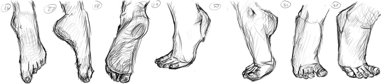 Feet (26-32) by muslacrima