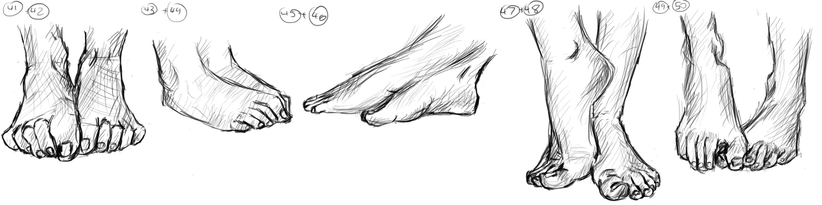 Feet (41-50)! by muslacrima