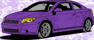 Scion Car Skin 'Purple'