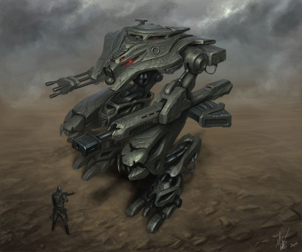 Assault Mech by MichalKus