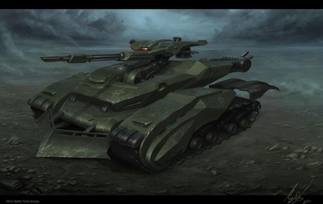 Cobra Tank final by MichalKus