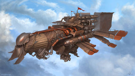 light marauder airship