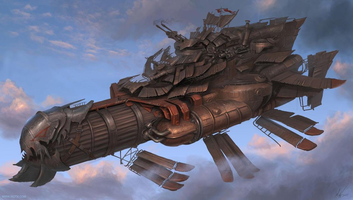 medium marauder airship by MichalKus