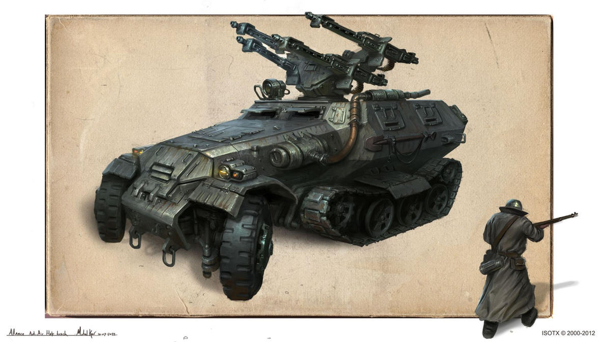 Michalkus-alliance-halftrack by MichalKus