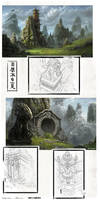 Asian Regions Concepts by MichalKus
