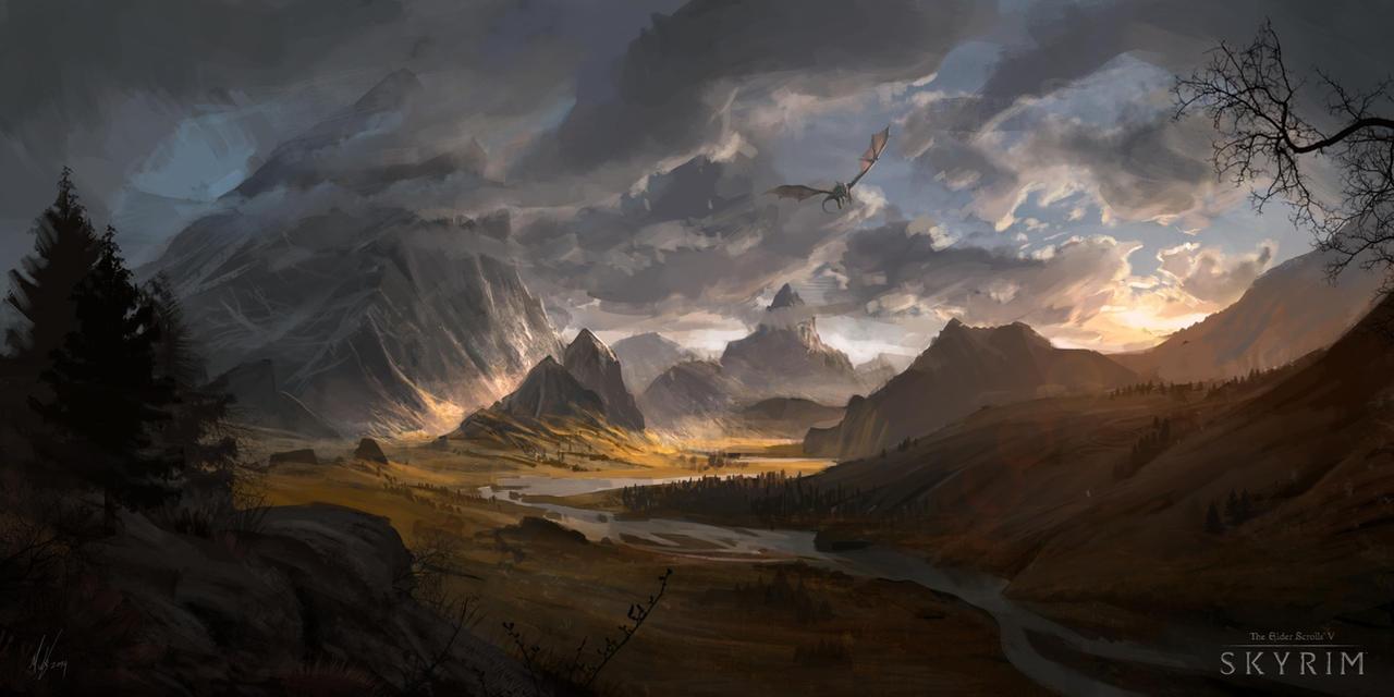 Skyrimspeed1 by MichalKus