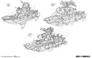 Soviet Marine skirmish boat