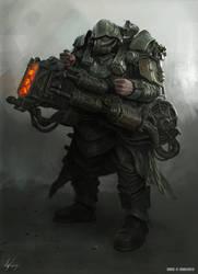 Panzer-Schuttler Grenadier by MichalKus