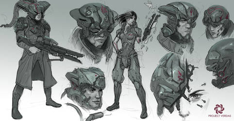 Project Verdas contractors ROUGHS by MichalKus