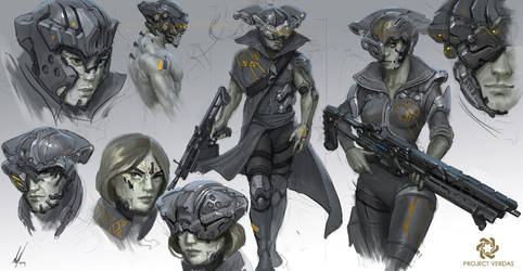 Project Verdas Contractors ROUGHS2 by MichalKus