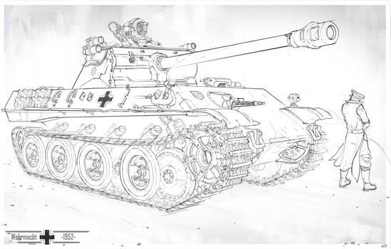 Panther Ausf. M - 1952