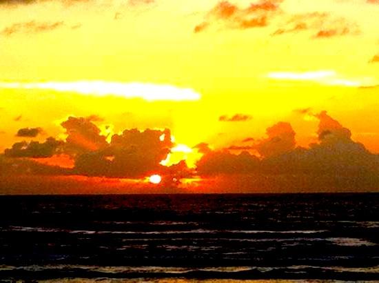 James-sahn-sunrise-from-our-balcony by jamessahn