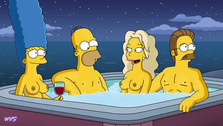 Sara Sloane's Hot Tub Party by WVS1777