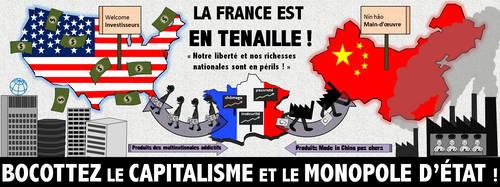 Non au Capitalisme et au Monopole d'Etat !