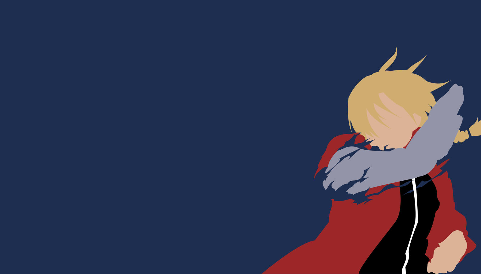 Full metal alchemist minimalist wallpaper by kinokocchi for Deviantart minimal wallpaper