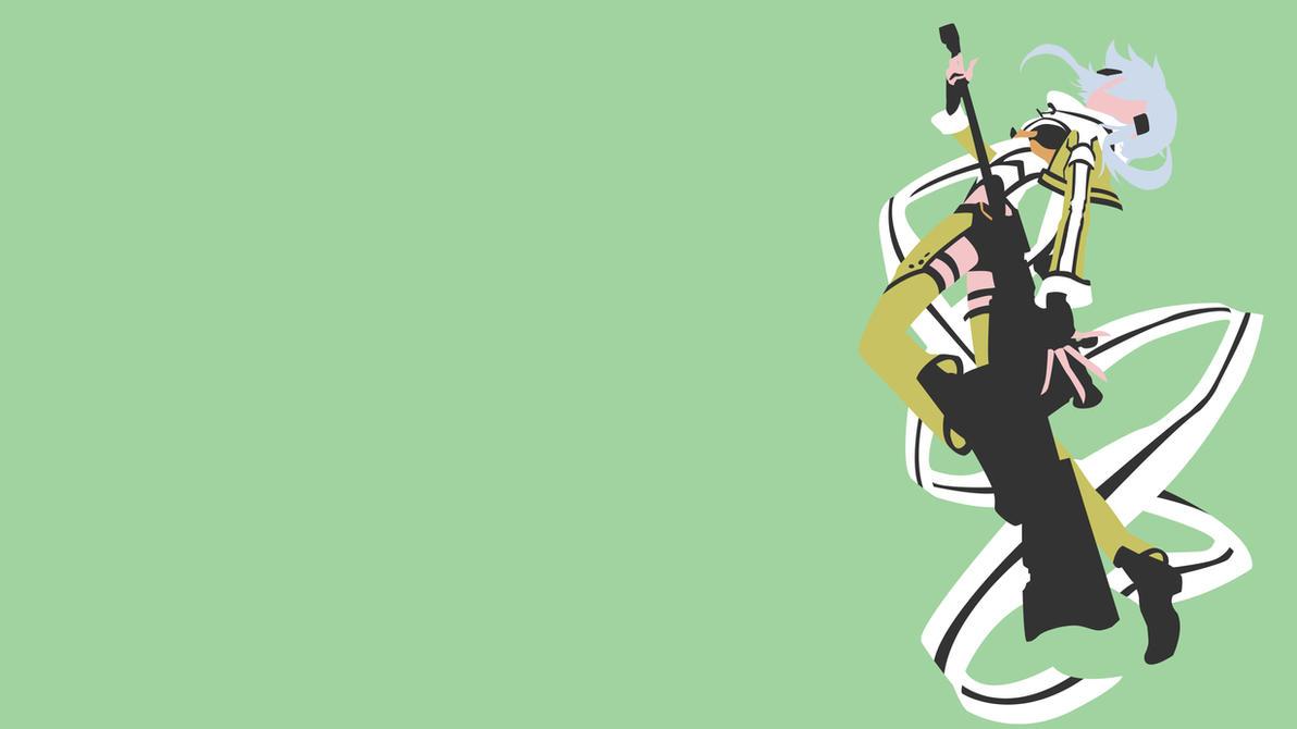 Sword art online sinon minimalist wallpaper by for Minimal art online