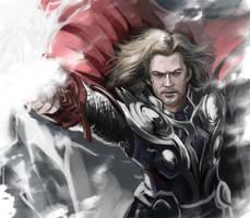 Thor by geminibluedream