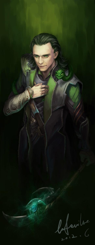 Loki by geminibluedream on DeviantArt