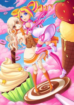 OC | Candy Clouds | SPEEDPAINT