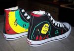 Custom Shoes: Rasta - 2
