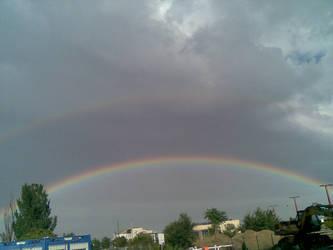 Double rainbow by gergelypolonkai