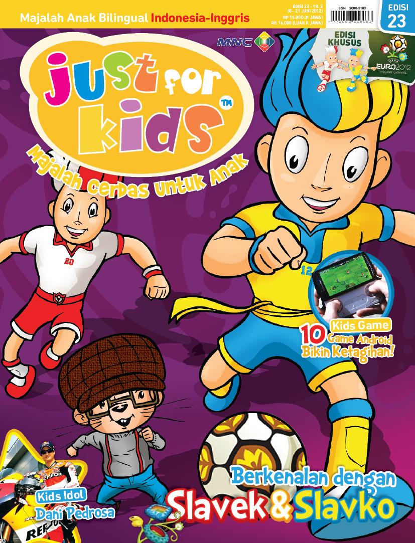 cover kids magazine 1 by candranawa on DeviantArt